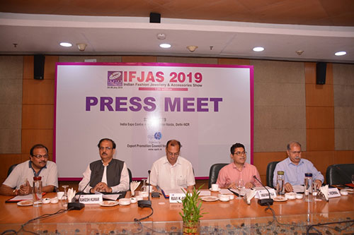 12TH EDITION OF FASHION JEWELLERY ACCESSORIES TO BEGIN FROM 4TH JULY 2019 EPCH