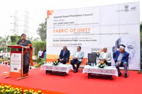 AEPC organises the Fabric of Unity to commemorate the Indian Textiles Industry