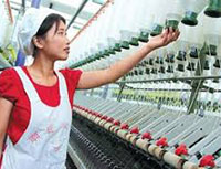 China's textile industry gears up for a structural transformation