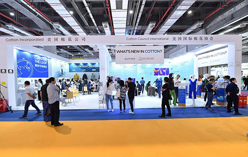 Cotton USA showcases its latest innovations at Intertextile Shanghai and Yarn Expo