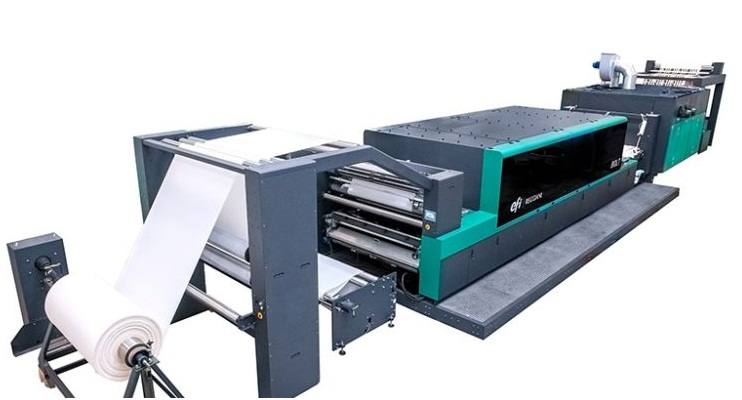EFI introduces next gen single pass Reggiani BOLT digital printer 003