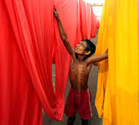 Global garment factories demand fair labor standards