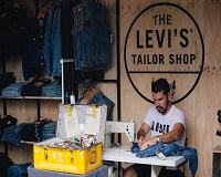Levi's denim customisation offers creative freedom to customers