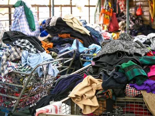 Recycling clothes catches up in the apparel retail industry